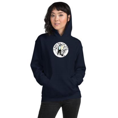 I want Sea Not PVC Unisex Hooded Sweatshirt 1