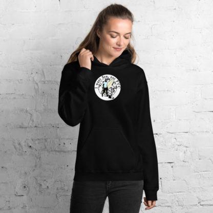 I want Sea Not PVC Unisex Hooded Sweatshirt 4