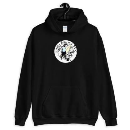 I want Sea Not PVC Unisex Hooded Sweatshirt 3