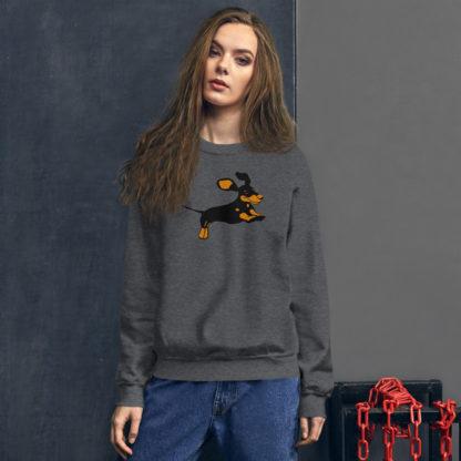 Dachshund Sweater, Dog Lover's Jumper 2