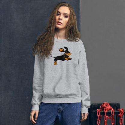 Dachshund Sweater, Dog Lover's Jumper 3