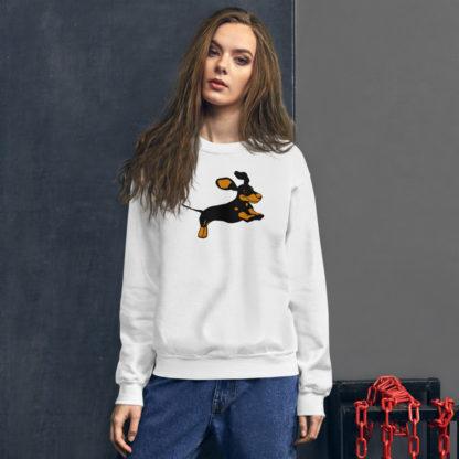 Dachshund Sweater, Dog Lover's Jumper 1