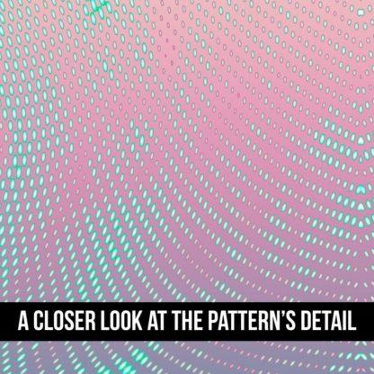 Psychedelic Leggings, Swirl of dots leggings, polka dot patterned leggings, gradient leggings, 2