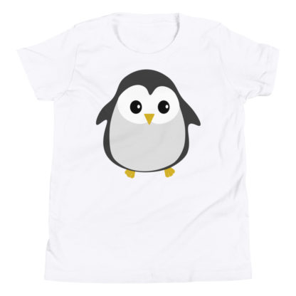 Cute Penguin Youth Short Sleeve T-Shirt 1