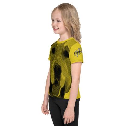 Golden Retriever Dog Print Kids TShirt 4
