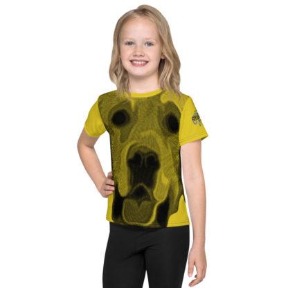 Golden Retriever Dog Print Kids TShirt 1