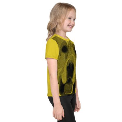 Golden Retriever Dog Print Kids TShirt 3