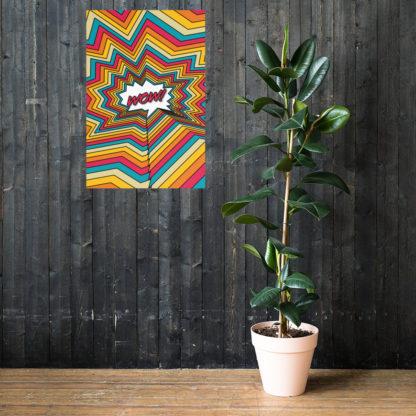Wow Pop Art Print