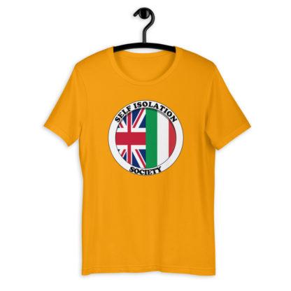 Self Isolation Society (Colour Options) Unisex T-Shirt 10