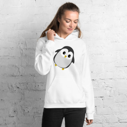 Cute Penguin Unisex Hoodie 4