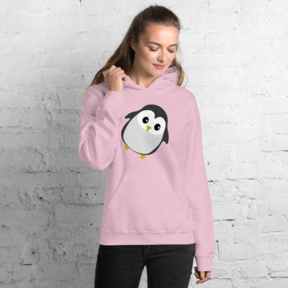 Cute Penguin Unisex Hoodie 6