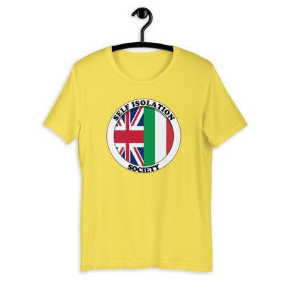 Self Isolation Society (Colour Options) Unisex T-Shirt 9