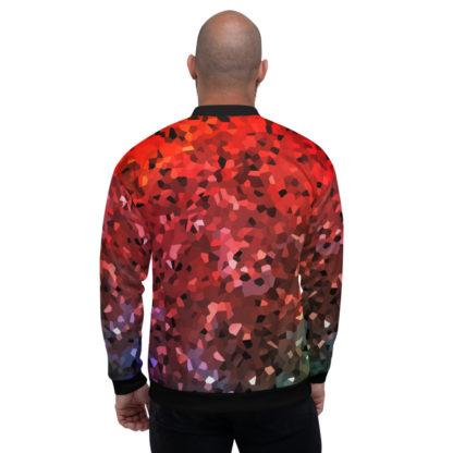 Crystals RGB Unisex Bomber Jacket 2