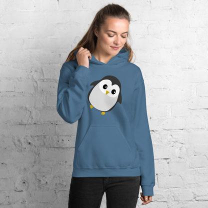 Cute Penguin Unisex Hoodie 1