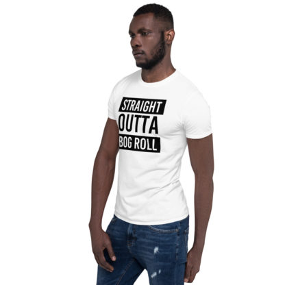 Straight Outta Bog Roll Funny Pandemic Unisex T-Shirt 5