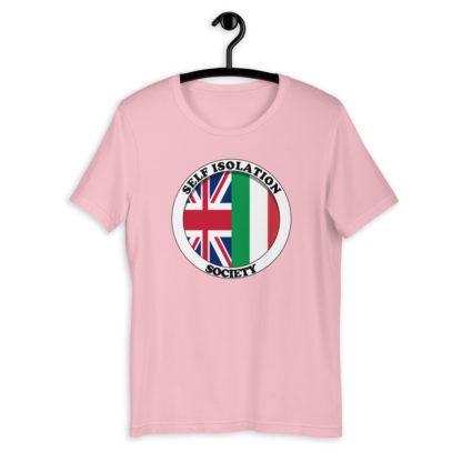 Self Isolation Society (Colour Options) Unisex T-Shirt 13