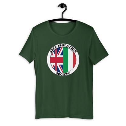 Self Isolation Society (Colour Options) Unisex T-Shirt 1