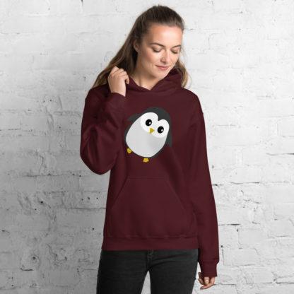 Cute Penguin Unisex Hoodie 5