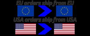 EU orders USA orders