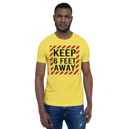 Social Distancing Keep 6 Feet Away TShirt 3