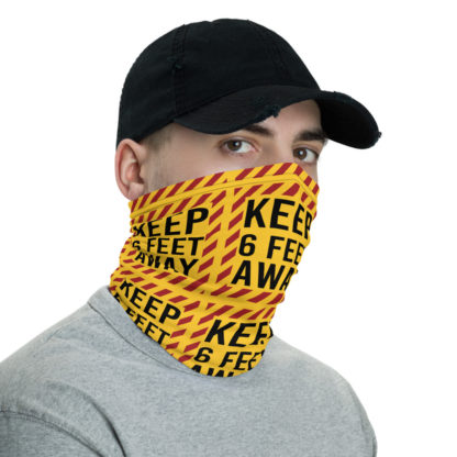 Social Distancing Keep 6FT Face Mask & Neck gaiter -Now Shipping from/to USA & EU fulfilment centres 3