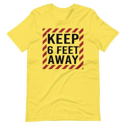 Social Distancing Keep 6 Feet Away TShirt 2
