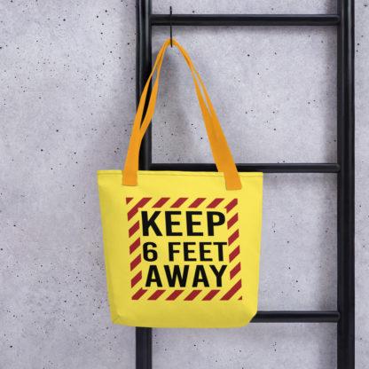 Social Distancing Shopping Tote bag 1