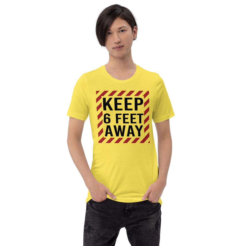 Social Distancing Keep 6 Feet Away TShirt