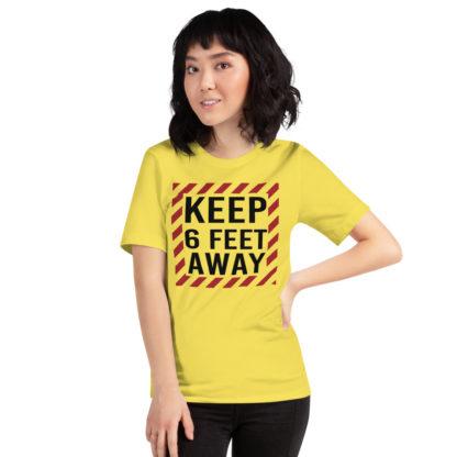 Social Distancing Keep 6 Feet Away TShirt 4