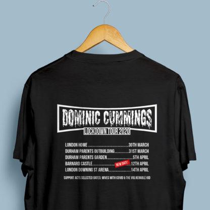 Dominic Cummings Lockdown Tour Hilarious Unisex TShirt 2