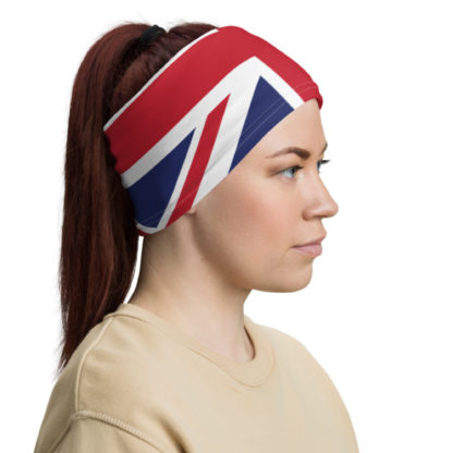 Union Jack bandana head